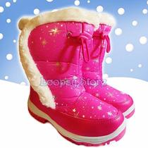 Botas De Nieve Niña - Impermeable Thermolite - Importadas!!