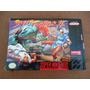 Super Nintendo Snes Street Fighter 2 Caja+ Cartucho Original