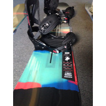 Tabla De Snowboard Burton Process Fv Con Fijaciones Mission
