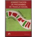 Administración Programas Trabajo Social. Ander-egg / Aguilar