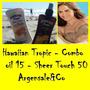 Hawaiian Tropic Aceite + Sheer Touch 15/50 Spf 240 Ml