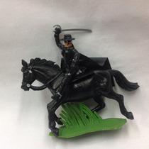 El Zorro A Caballo Muñeco Miniatura Soldadito Coleccion