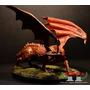 Smaug El Dragon - El Señor De Los Anillos- El Hobbit - Plomo