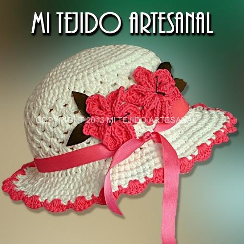 Sombreros Tejidos Al Crochet Para Niños Y Adolescentes - $ 190,00 ...