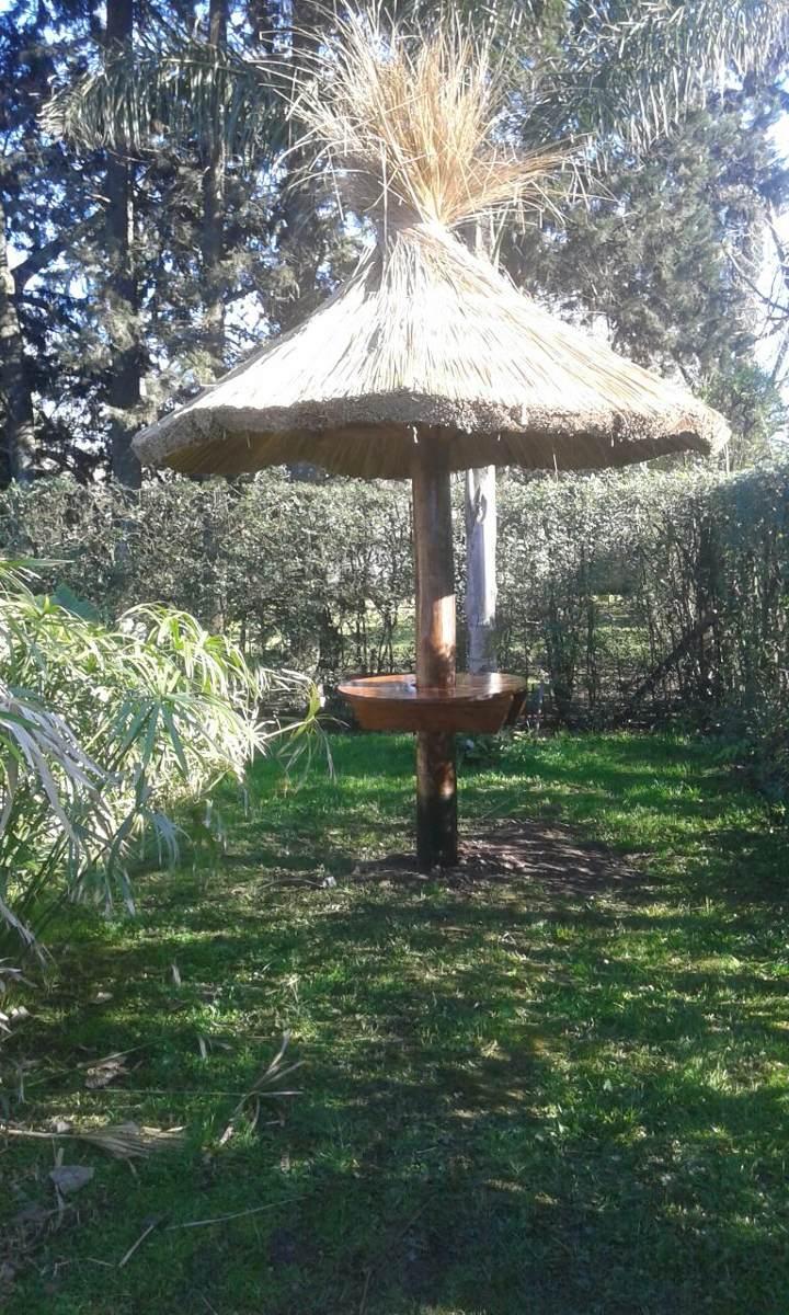Sombrilla de paja para patio o jardin 2 50 mts de - Sombrilla de jardin ...