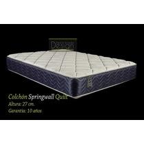 Colchon (solo) Springwall Quilt De 1.80 X 2.00