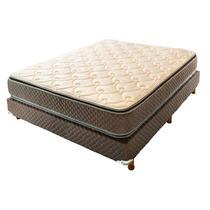 Colchón Y Sommier Cannon Exclusive Pillow 2 Pl Envío Gratis