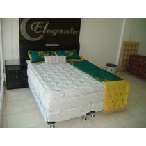 Colchón Y Sommier C/ Cajones 1.80x2.00 C/súper Pillow Top
