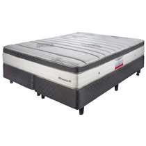 Colchon Y Sommier Bed Time Nuevo Alchemy Sealy 200x200cm