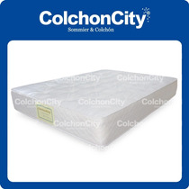 Colchon Resortes Modelo Mystic-city 1,40 X 1,90 Promo!!