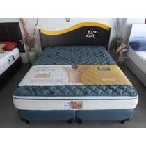 Sommier King Koil Aspen Resorte Individuales 160x200 Pilllow
