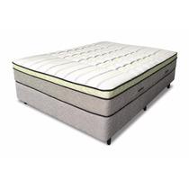 Colchón Y Sommier 160x200 Alta Densidad+pillow Meyer+2 Almo