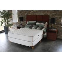 Sommier Y Colchón Suite Cipres King Size 1.80x2.00 Resortes
