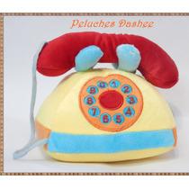 Telefono Sonajero De Peluche Excelente!