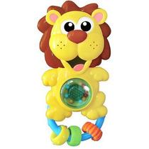 Sonajero De Bebe Animales Musical Luz Y Sonido Rainbow Toys