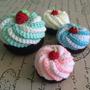 Cupcakes A Crochet