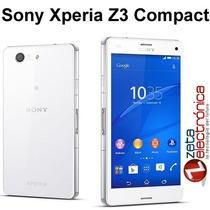Sony Xperia Z3 Compact 20,7mp Video 4k Snapdragon 801 Libre