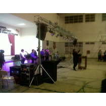Tripode Telescopico Con Malacate Para,truss,p/array,dj,luces