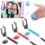 Monopod Baston Selfie Extensible + Remote Shutter Bluetooth