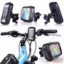 Soporte + Funda Impermeable Bicicleta Moto Celular Gps Ipod
