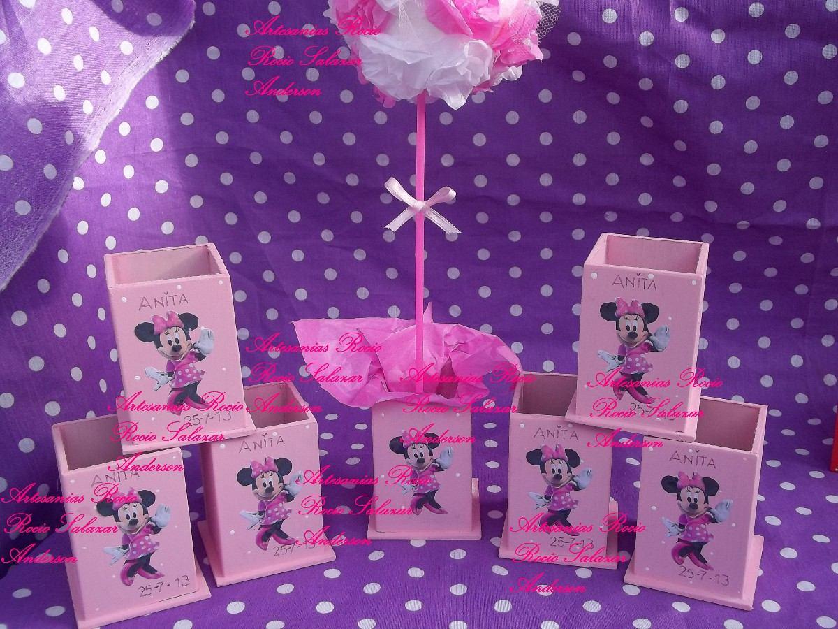 Souvenirs Y Centros De Mesa,minnie,la Casa Mickey Mouse,bebe - $ 9 ...