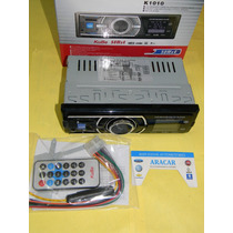Stereo Radio Am Fm Mp3 Usb Sd Memory Card Slop Control K1010