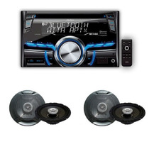 Combo Stereo Clarion Cx305 + 4 Parlantes Clarion 6,5 Pulgada