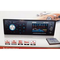 Autoestéreo Mp3 Wma Fm Micro Sd Usb Auxiliar Control Remoto