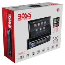 Stereo Boss Bv9973 Dvd Bt Sd Usb 340 W Tactil Motorizada 7p