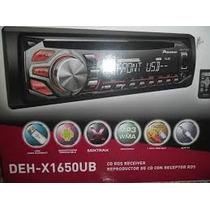 Pioneer Deh-x1650 Ub Nuevo 0 Km Garantia Factura A Y B