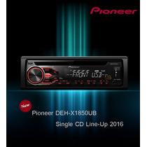 Stereo Pioneer Deh-x1850 Cd-usb-auxiliar. 2016