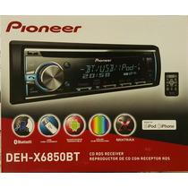 Pioneer Deh-x6850bt Usb / Aux / Bluetooth / Display Multicol