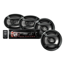 Stereo Combo Pioneer Dxt 1669 Usb+4 Parlantes