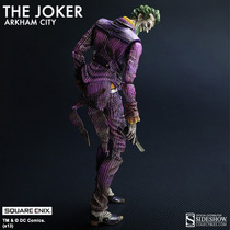 The Joker Arkham Play Arts Square Enix Batman Guason Bane Dc