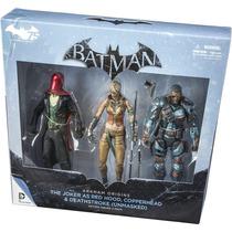 Batman Origins The Joker As Red Hood Copperhead Deathstroke