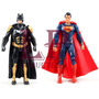 Set De 2 Muñecos Batman Vs Superman Down Of Justice