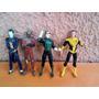 Lote X 4 Figuras De Plomo Series De Tv