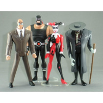 Justice League 4 Villanos Harley Quinn Scarecrow Bane Batman