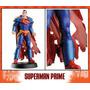 Dc Aguilar Figura De Plomo Superman Prime