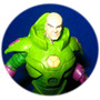 Lex Luthor Dc Comic Aguilar Aleaciones Metalicas C/base