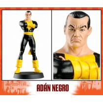 Dc Comic Aguilar Figura De Adan Negro