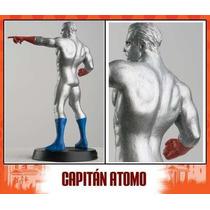 Figura De Plomo Dc Aguilar Comics (el Capitan Atomo)