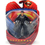 Superman Man Of Steel Traje Negro 15cm Original Dc Blister