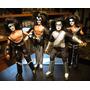 Lote X4 Muñecos Kiss Limited Retro Mego Figures En Blister!!