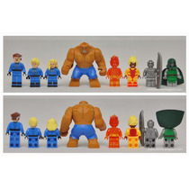 Lego - Set De Fantastic Four - 8 Mini Figuras!