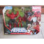 Marvel Universe Heroic Ages Heroes Thor Red Hulk Iron Man