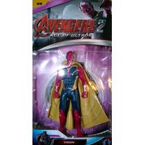 Vengadores Era De Ultron Ironman Hulk Thor America Vision