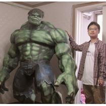 Hulk 2 Mts (para Armar En Papercraft - Plantillas Sin Error)