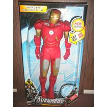 Muñecos De Capitán América-iron Man-super Grandes 50cm