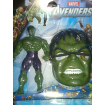 Muñeco De Increible Hulk,mas Mascara Para Niños,padua